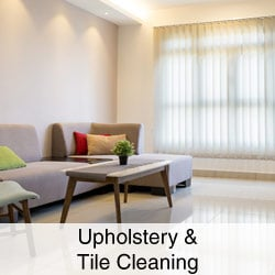 Upholstery & Tile Cleaning